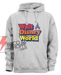 Vintage Walt Disney World 1971 Hoodie - Funny Disney Hoodie - Vacation Disney Hoodie