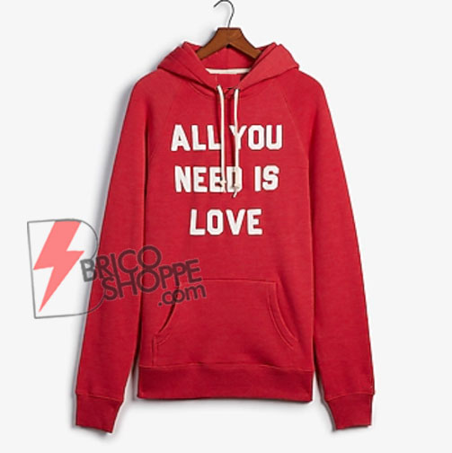 ALL YOU NEED IS LOVE Hoodie - Funny Hoodie