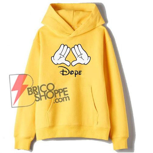Disney-Mickey-Mouse-Dope-Custom-Hoodie
