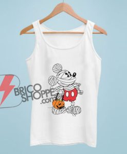 Disney Mickey Mouse Mummy Custom Tank Top – Funny Disney Tank Top – Vacation Disney Tank Top