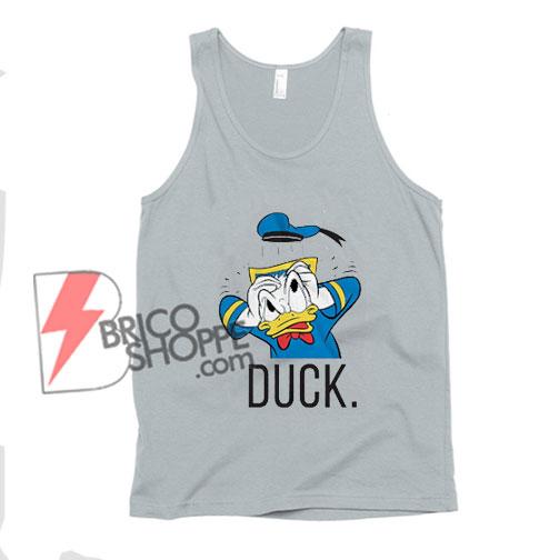 Donald Ducks Classic Vintage Disneyland Tank top – Donald Ducks Tank top – Disney Tank top – Vacation Disney Tank top