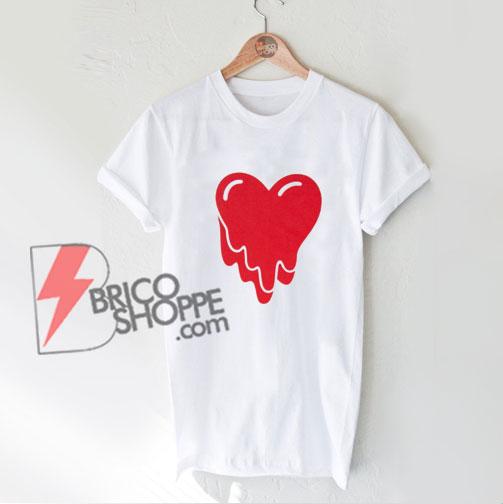 Emotionally Unavailable Heart Logo T-Shirt - Emotionally Unavailable Shirt - Funny Shirt