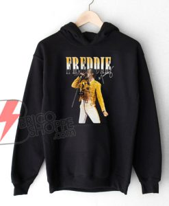 Freddie Mercury Hoodie – Queen Band Hoodie – Funny Hoodie On Sale