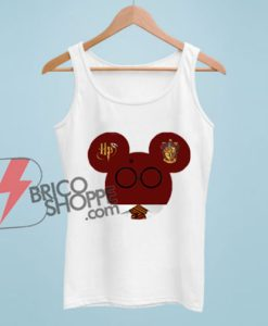 Harry potter world mickey mouse Tank Top – Funny Tank Top On Sale – Vacation Disney Tank Top