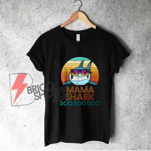 MAMA-Shark-T-Shirt