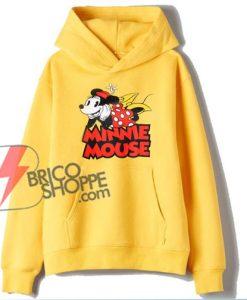 MINNIE MOUSE Hoodie – Vintage Minnie Mouse Hoodie – Vacation Disney Hoodie