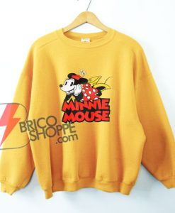 MINNIE MOUSE Sweatshirt - Vintage Minnie Mouse Shirt - Sweatshirt - Vacation Disney Sweatshirt