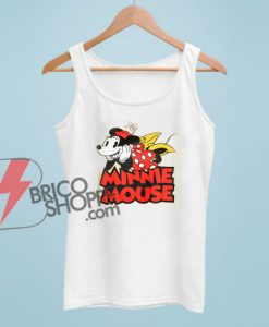 MINNIE MOUSE Tank Top – Vintage Minnie Mouse Tank Top – Vacation Disney Tank Top