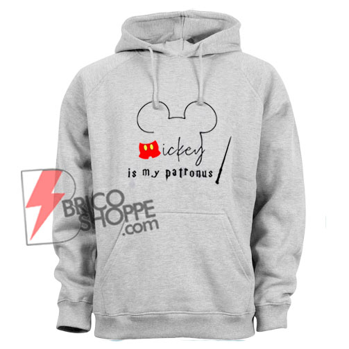 Mickey-Mouse-Is-My-Patronus-Hoodie---Funny-Hoodie--On-Sale