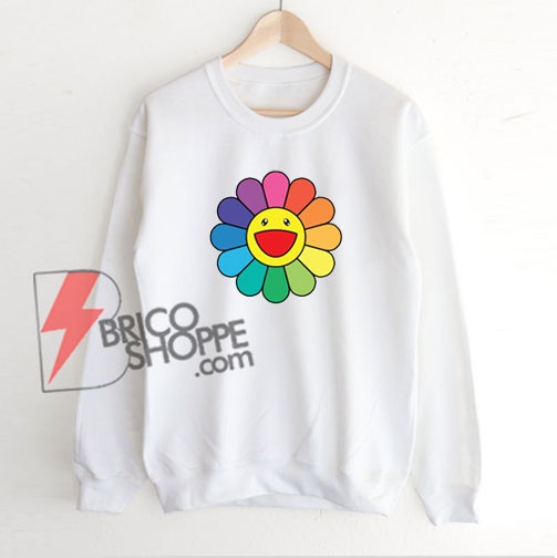 Takashi-Murakami-Happy-Flower-Sweatshirt