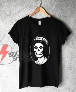The Misfits Skull Her Majesty Queen British Punk Band T-Shirt - Funny Shirt On Sale
