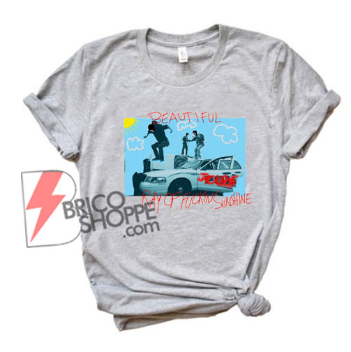 Travis Scott JACKBOYS Ray of Sunshine T-Shirt - Funny Shirt On Sale