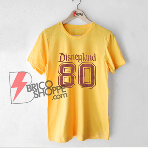 Vintage Disneyland Shirt - 1980's Disneyland T-Shirt - Funny Shirt On Sale