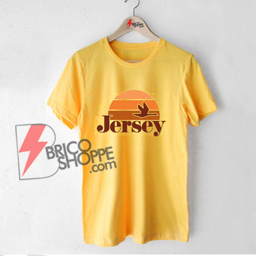 Vintage Inspired New Jersey T-Shirt - Funny Shirt On Sale
