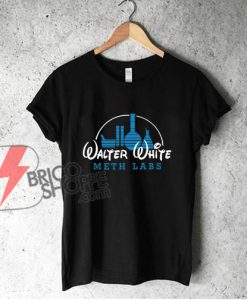 Walter White Meth Labs T-Shirt - Parody WaltDisnet Shirt - Funny Shirt On Sale