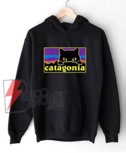 Cat X Patagonia Hoodie - Catagonia cat Hoodie - Funny Cat Lover Hoodie