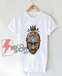 King Tupac Shakur Hip Hop Thug Life Gangsta T-Shirt - Tupac Shakur Shirt
