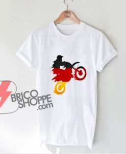 Motocross-Mountain-Bike-Birthday-Boy-Dirt-Bike-Germany-Flag-T-Shirt