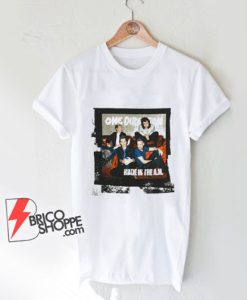 One Direction Men's Made in The AM Shirt - Funny Shirt On Sale