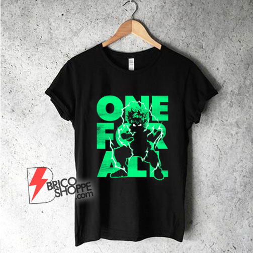 One-For-All-My-Hero-Shirt---Funny-Shirt-On-Sale