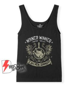 PUBG-WWCD-Tank-Top-–-Winner-Winner-Chicken-Dinner-Tank-Top-–-Funny-Tank-Top-On-Sale