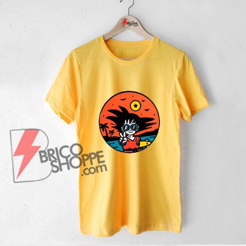Peace-Son-Go-ku-Shirt---Songoku-Shirt---Funny-Shirt-On-Sale