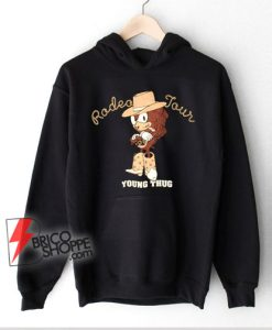 Radeo Tour - Young thug rapper sonic Hoodie - Funny Hoodie On Sale