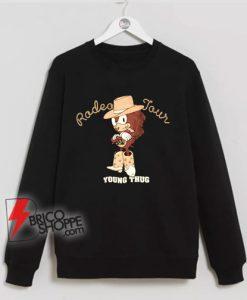 Radeo Tour - Young thug rapper sonic Sweatshirt - Funny Sweatshirt On Sale