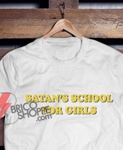 SATAN-SCHOOL-FOR-GIRLS-T-Shirt---Funny-Shirt-On-Sale