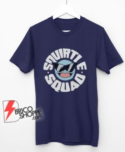 Squirtle Squad T -Shirt - Pokemon Iconic Computer Game TV Shirt - Funny Shirt On Sale