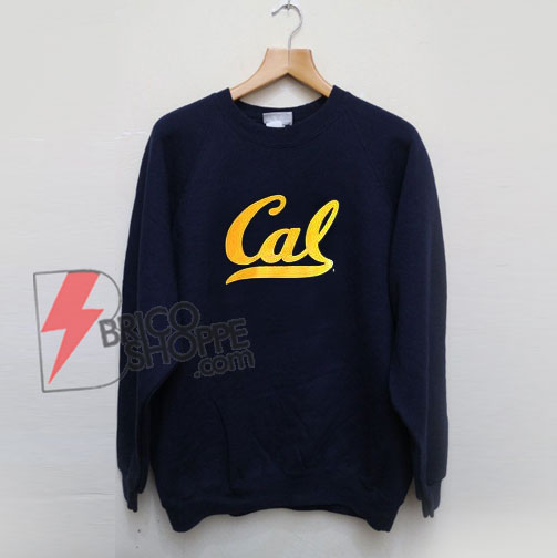University-of-California-Berkeley-California-Golden-Bears-Script-Cal-Sweatshirt---Funny-Sweatshirt
