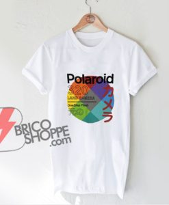 Vintage-Shirt---Polaroid-320-Land-Camera-Shirt---Funny-Shirt