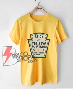YELLOW-MUSTARD-Shirt---Matching-Shirts----Best-Friends-Halloween-Shirts---Funny-Shirt
