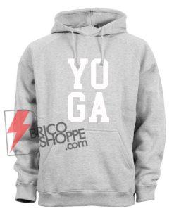 YOGA Hoodie - Funny Hoodie Sport Grey