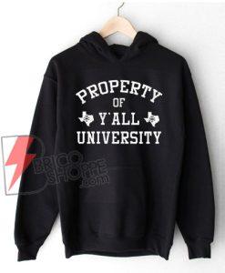 Y'all-University-Hoodie--–-property-of-y'all-university-Hoodie---Vintage-Hoodie