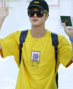 BTS JIN I AM YOUR MASTER T-Shirt - Funny Kpop Shirt