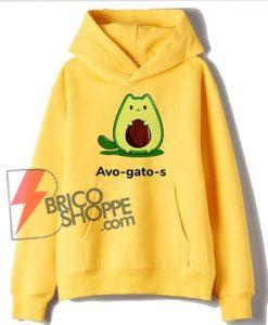 Avo Gato s Hoodie - Avocado Hoodie - Funny Hoodie On Sale