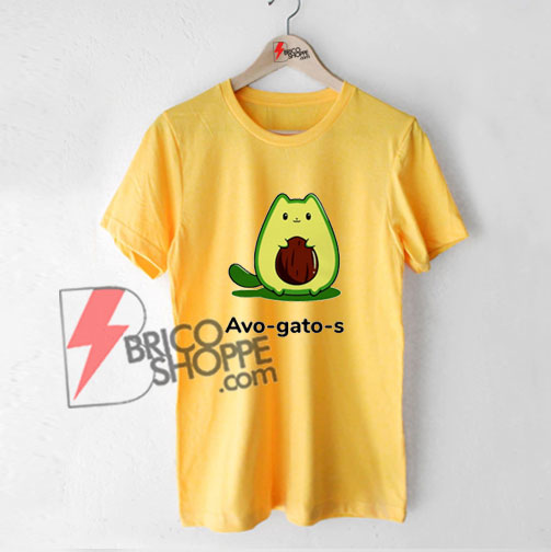 Avo Gato s T- Shirt - Avocado Shirt - Funny Shirt On Sale