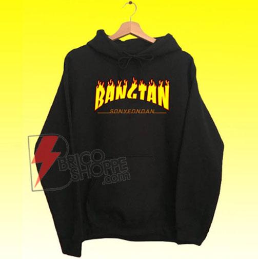 BTS 방탄소년단 Bangtan Hoodie - Kpop ARMY Bangtan Boys - Funny Hoodie On Sale