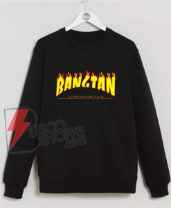 BTS 방탄소년단 Bangtan Sweatshirt - Kpop ARMY Bangtan Boys - Funny Sweatshirt On Sale