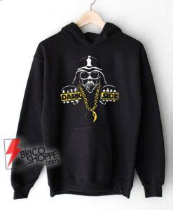 Dark Side Gangster Bling Star Wars Parody Hoodie - Funny Star Wars Hoodie