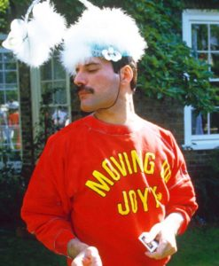 MOVING UP JOYY Sweatshirt - Freddie Mercury sweatshirt