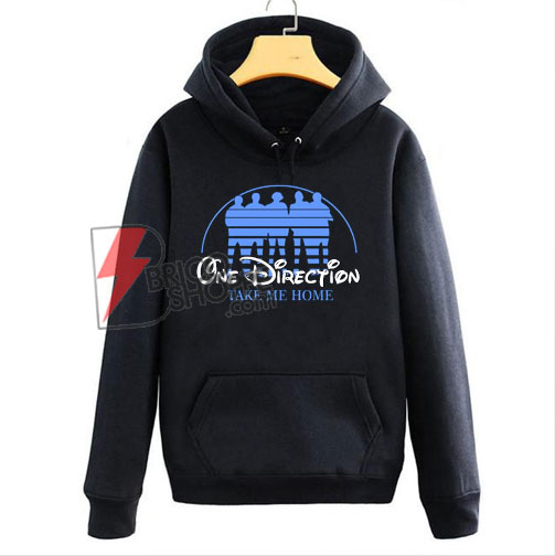 One Direction Hoodie - One Direction Take me Home Hoodie - Parody Walt Disney One Direction Hoodie - funny Hoodie On Sale