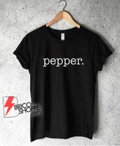 Paper T-Shirt Matching Halloween Shirt salt and PEPPER Costume for Couples Shirt