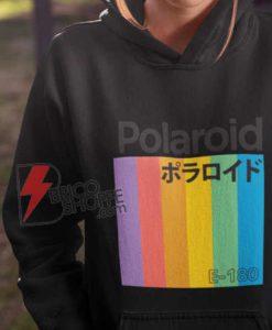 Polaroid Japanese Hoodie - Polaroid E-180 Hoodie - Funny Hoodie On Sale