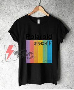 Polaroid Japanese T-Shirt - Funny Shirt On Sale