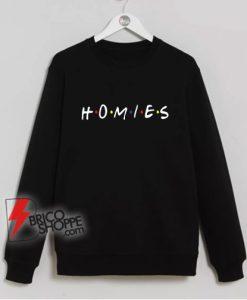 Simple-Freshland-Homies-Sweatshirt---Parody-Sweatshirt---Funny-Sweatshirt