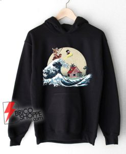 The-great-of-Kanagawa-x-dragon-ball-Hoodie---Parody-Hoodie---Funny-Hoodie