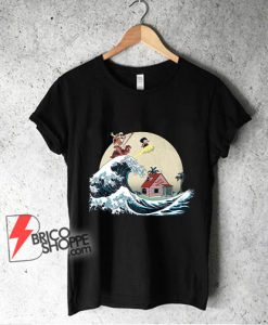 The great of Kanagawa x dragon ball Shirt - Parody Shirt - Funny Shirt
