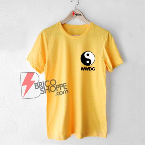 WWDC Ying Yang Shirt - Funny Shirt On Sale